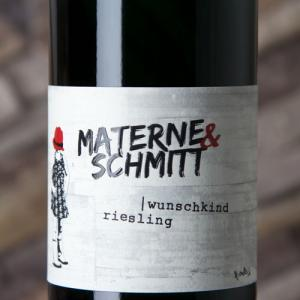 Etiqueta Materne & Schmitt Wunschkind Riesling 2015 - Alemania - Mosela - Sarre - Ruwer