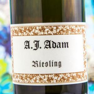Etiqueta A.J. Adam Riesling Trocken Alemania Mosela - Sarre - Ruwer