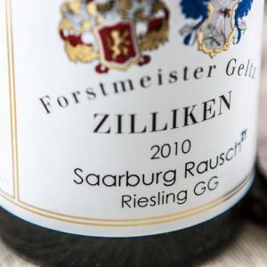 Etiqueta Geltz Zilliken Rausch GG Riesling - Alemania - Mosela