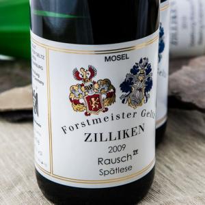 Etiqueta Geltz Zilliken Rausch Spätlese - Alemania - Mosela - Sarre - Ruwer