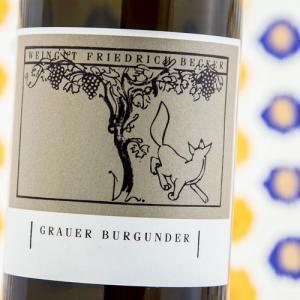 Etiqueta Friedrich Becker Gutswein Grauer Burgunder