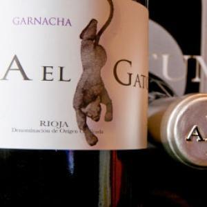 Etiqueta Ad Libitum Juan Carlos Sancha Peña el Gato Garnacha Centenaria D.O.Ca. Rioja
